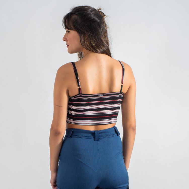 Cropped Laço Stripes